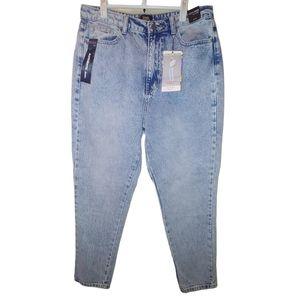 High Waisted Mom Jeans Light wash 13/31